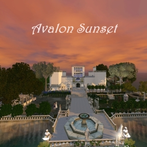 Avalon sunset