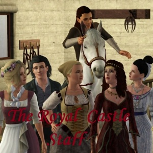 Royal Castle Staff