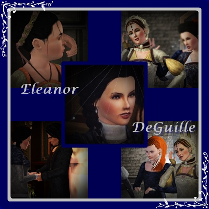 Lady Eleanor DeGuille through time and history, from a lonely child pawn of Royals to an uncertain romance, timeless friendship to a Mother's spirit within her guiding her journey and her destiny.