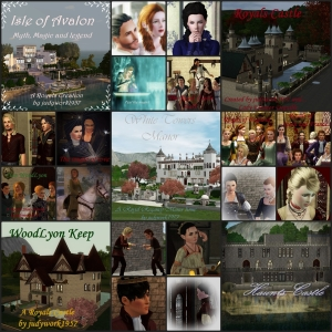 The Royals from Avalon through time and history to Haunts Castle!