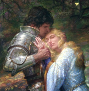 The shining Ancelot betrayed his King Arthur in demand from his wife, whom he feared more than loved...