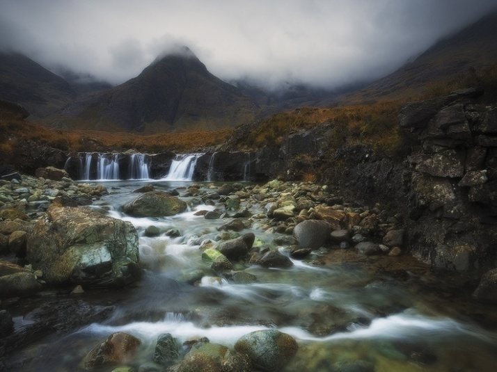 Photo of Fairie pools in Scotland