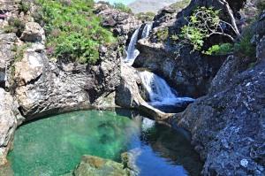 Photo of Fairie pool on Isle of Skye
