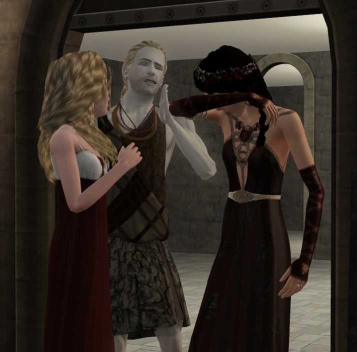 a reunion of grief