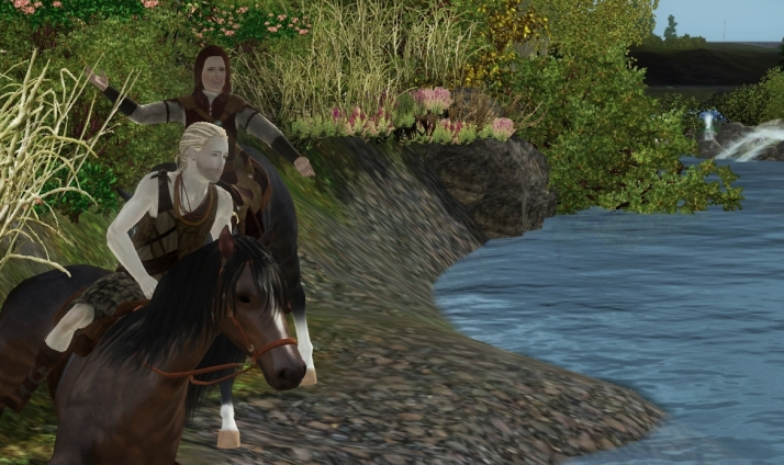 Eric and Artorius on their journey