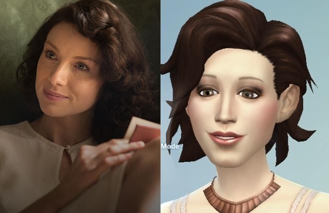 Claire Randall comparison