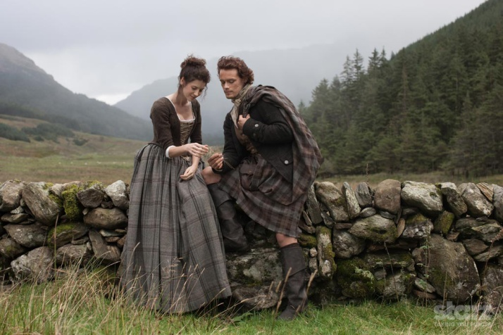 Outlander Gallery Claire and Jamie