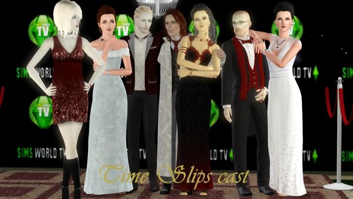 Time Slips cast members: Brenda Blonde, Judith Self, Eric North, Adrian DeWare, Scoithin Reil, Svein North, Eleanor DeGuille