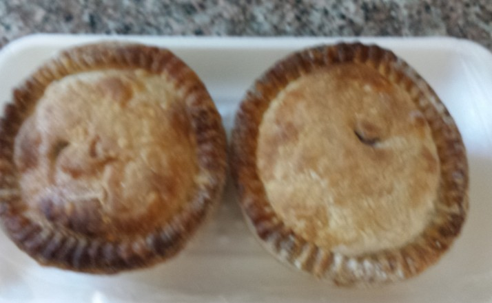 pre-made pork pies by Jolly Good foods