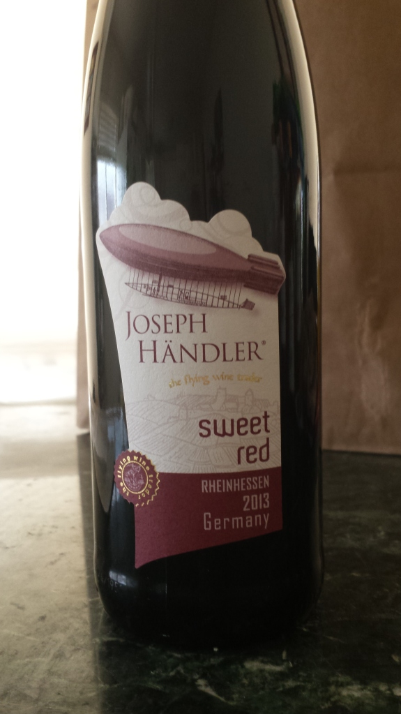 Joseph Handler Sweet Red- Reinhessen Germany