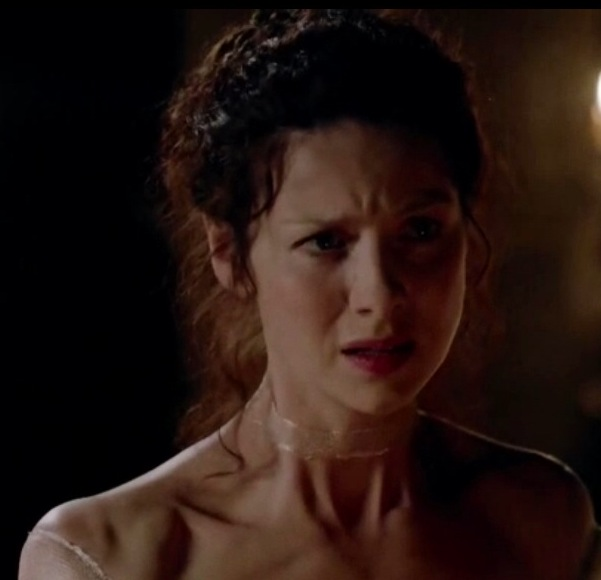 Claire's reaction to the blood vows