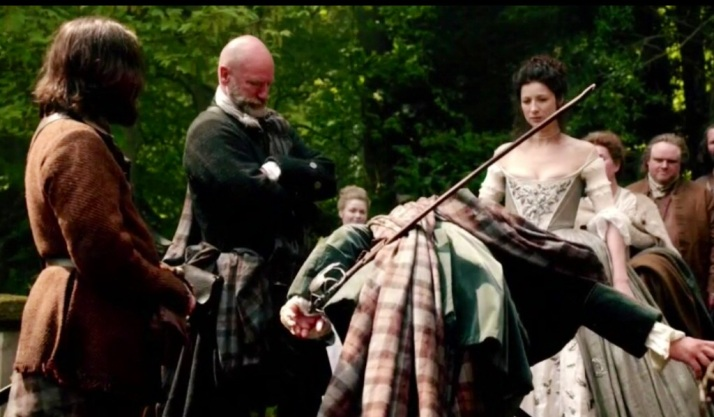Dougal disgusted at Jamie's display