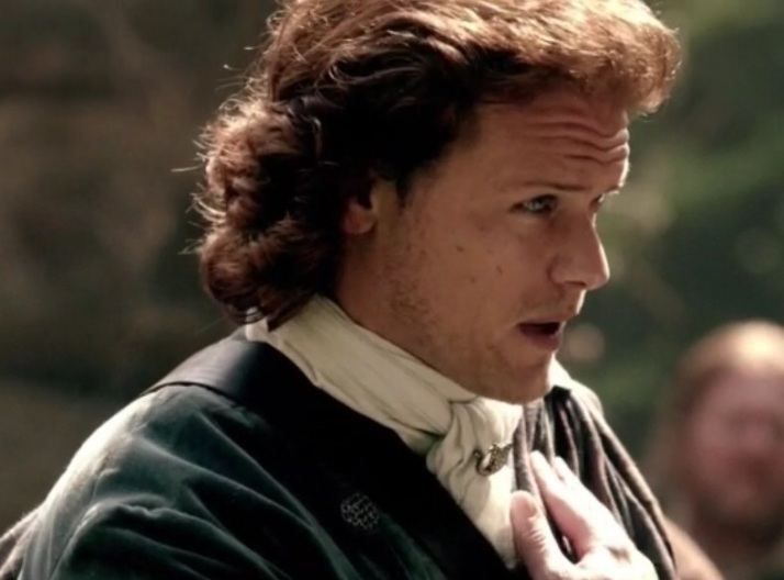 Jamie reminds Claire of his name