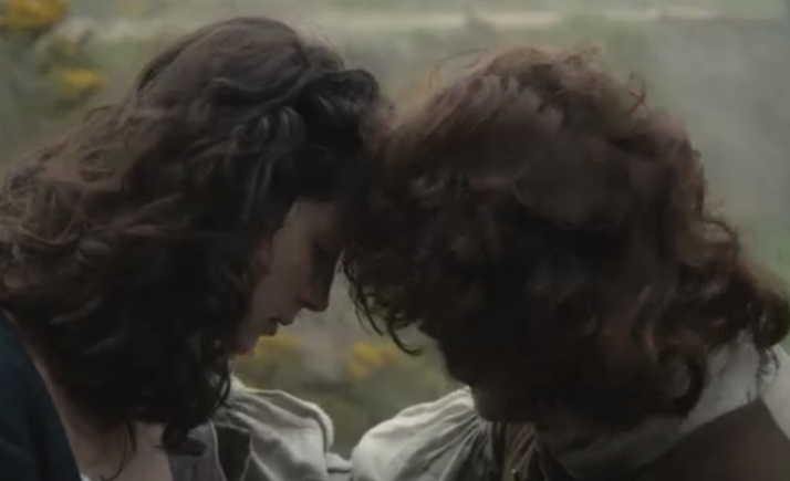 Jamie tries to comfort Claire
