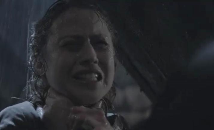 Sally gets choked