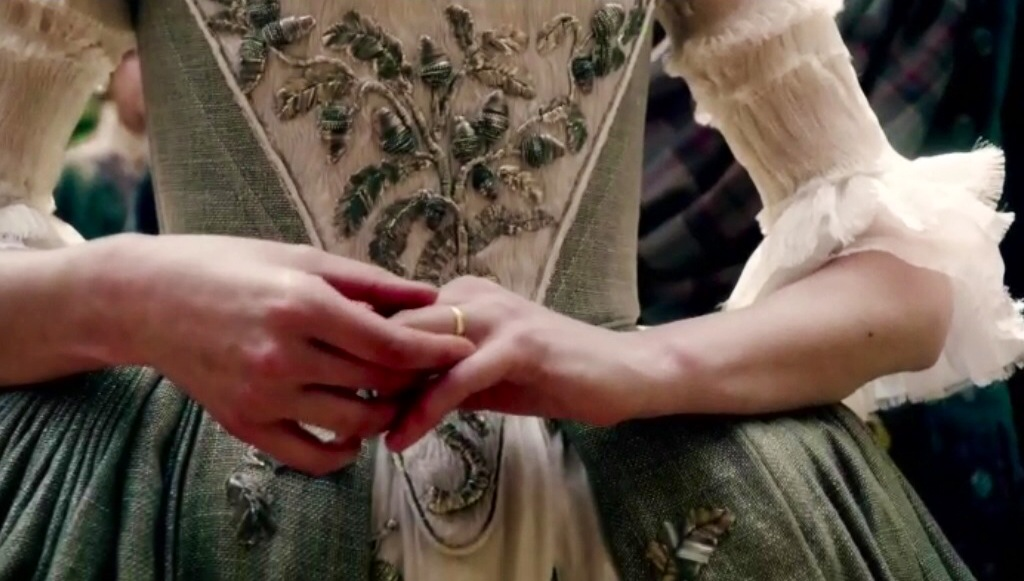 Outlander The Wedding the bedding and all the in between Time Slips