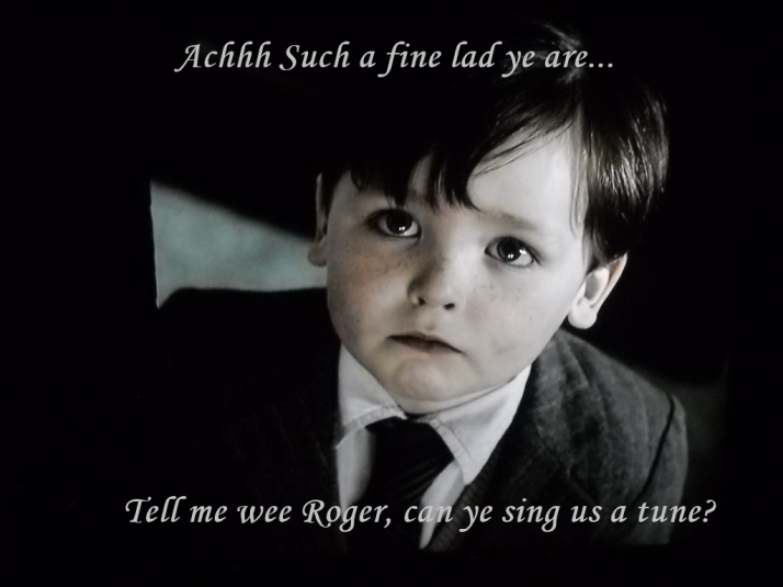 Wee Roger sing