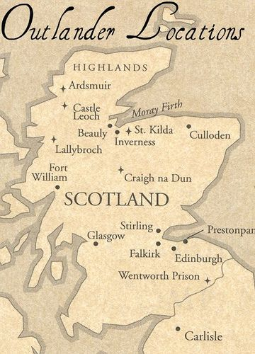 Outlander locations