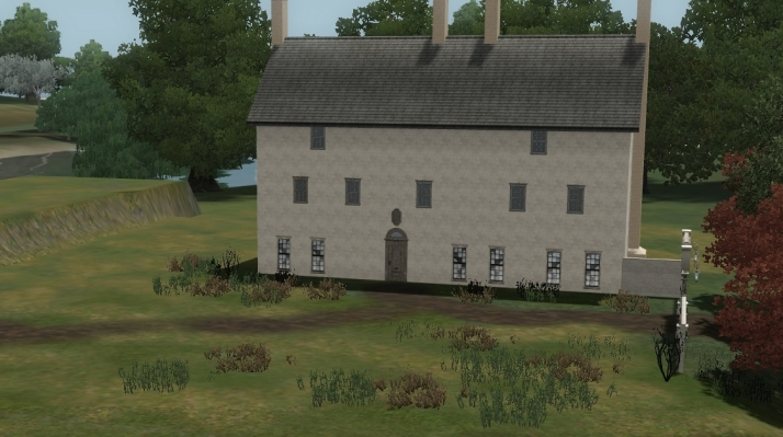 Roger's first view of lallybroch