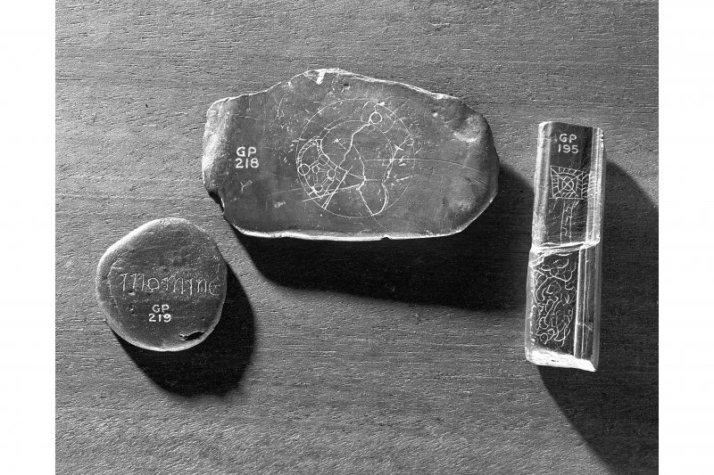 artifacts from dunadd excavations
