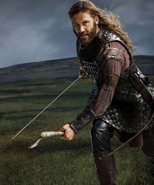 Clive Standen as Rollo!