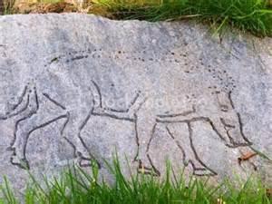 dunadd boar carving
