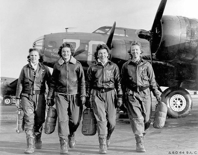 female pilots during WWII