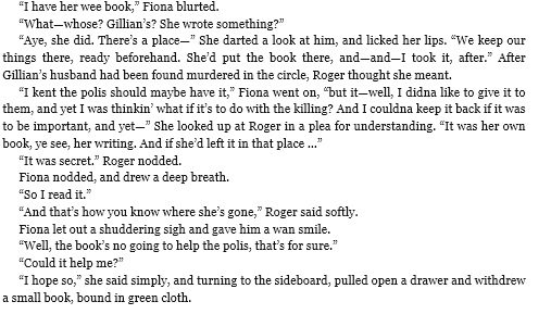 Fiona show Roger geillis grimoire