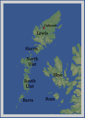hebrides-map callinish stones