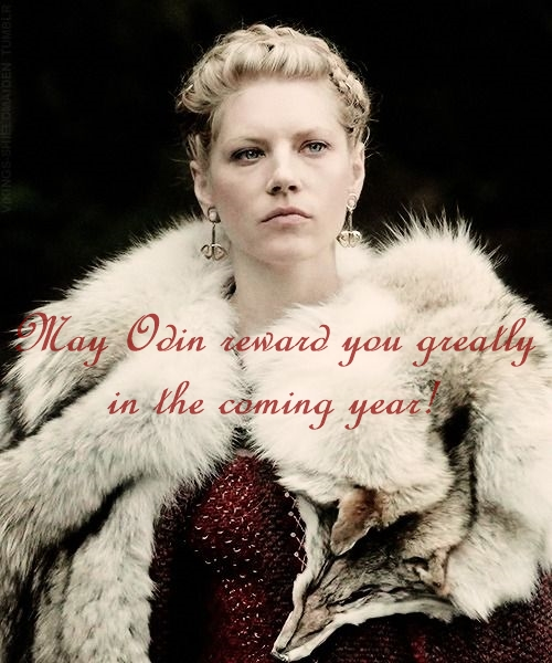 Lagertha's Yule greeting