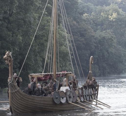 viking long boat