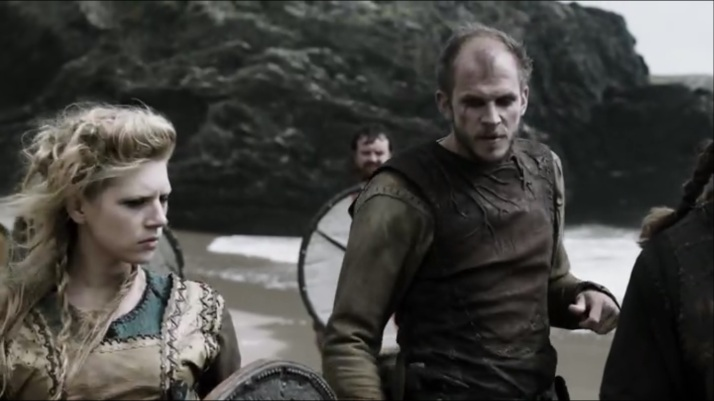 floki is on edge he is losing what little control he maintains