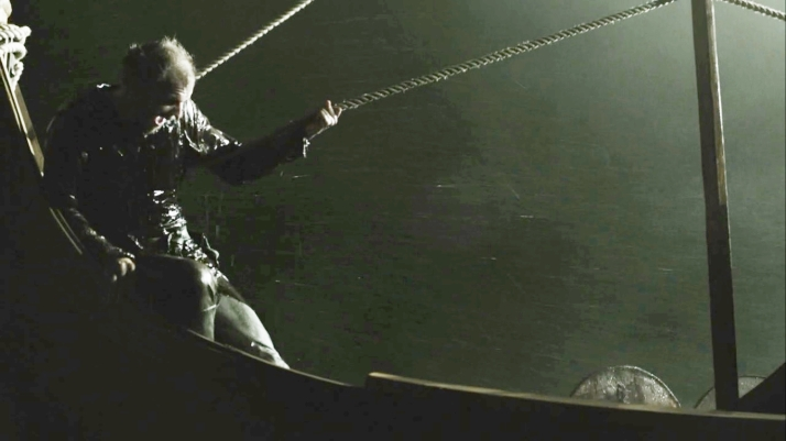 Floki sit down remember you can't swim