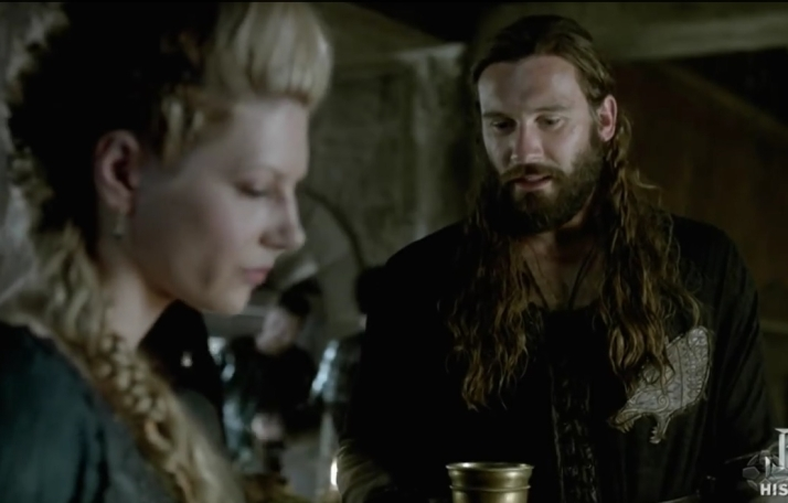 lagertha and Rollo,  All men are ambitious