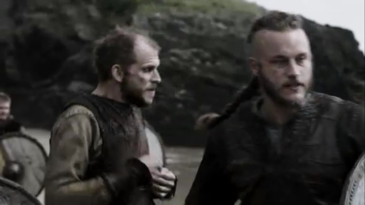 Ragnar has to quickly try to diffuse the situation