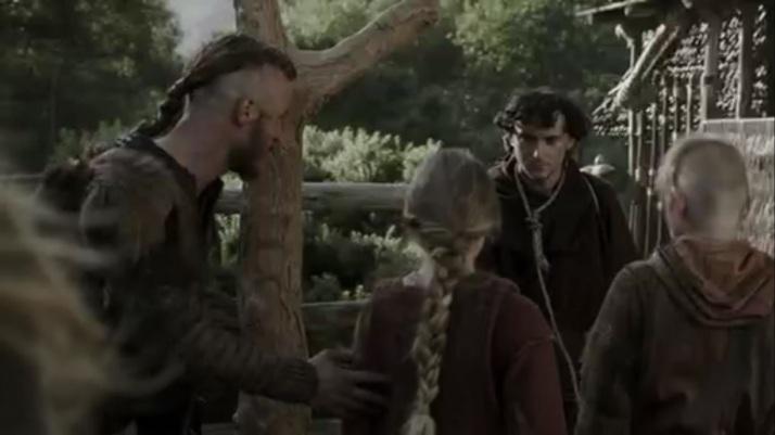 Ragnar takes Athelstan home