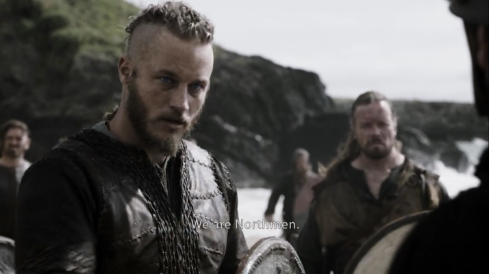 Ragnar tries diplomacy.  We're Northmen,  yes we are traders.