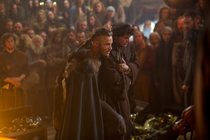 ragnar with slave athelstan