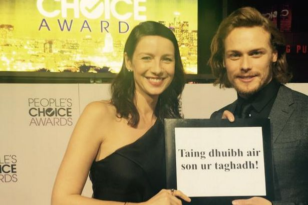 Sam and Cait for people's choice award