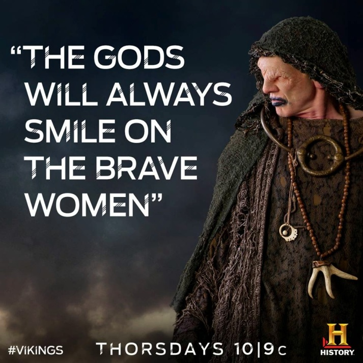 The-Gods-will-always-smile-on-the-brave-women-vikings-tv-series