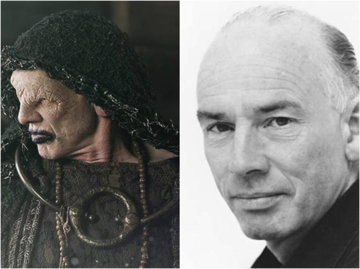 The Seer played by John Kavanagh