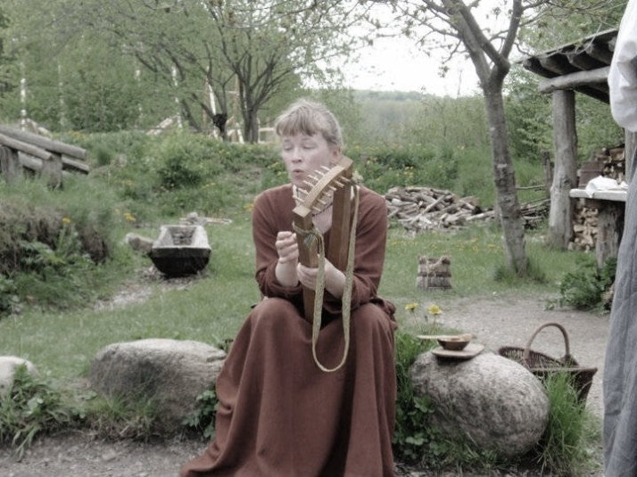 Viking-Village-Musician