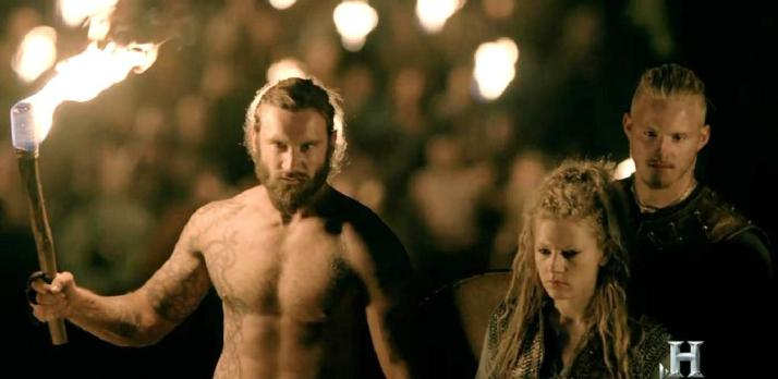 Rollo, Lagertha and Bjorn