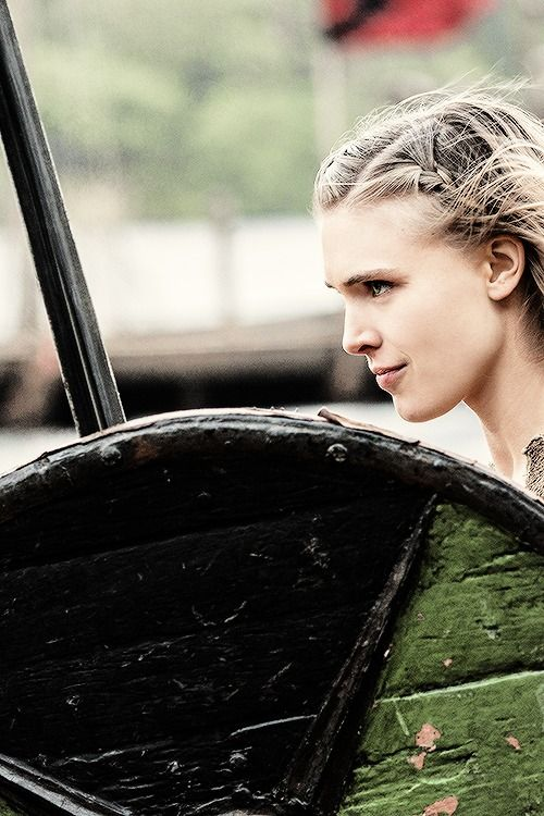 Vikings. Thorunn  I want to fight in the shield wall. I want to be like Lagertha