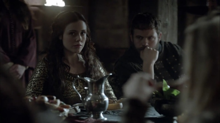 aethelwulf and judith listen and watch the meeting.