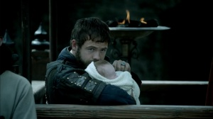 aethelwulf with baby Athelred