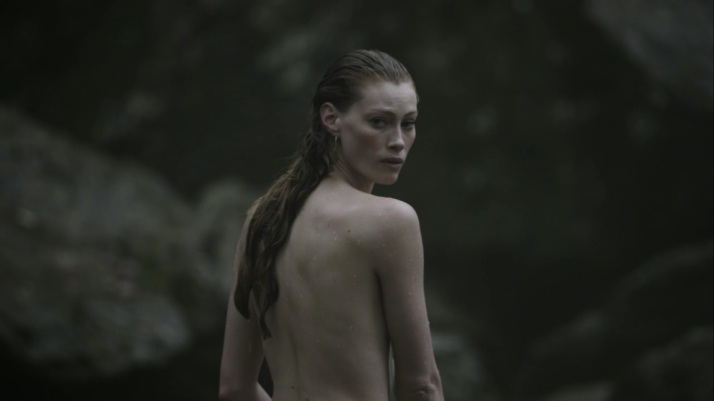 aslaug in the water