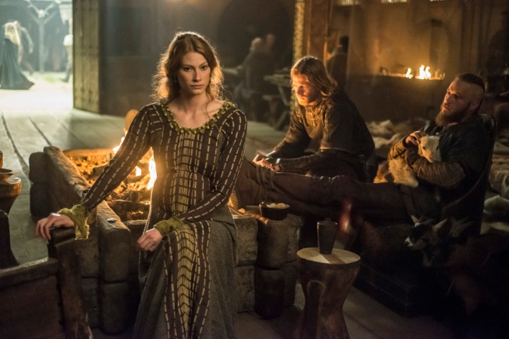 aslaug pregnant as usual