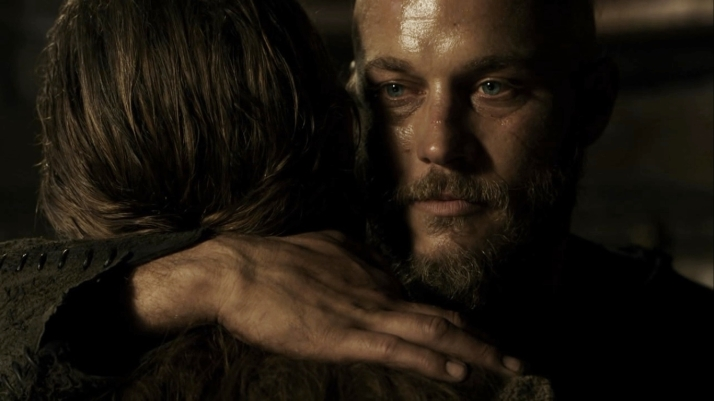 at rollo's words of equal Ragnar's look changes