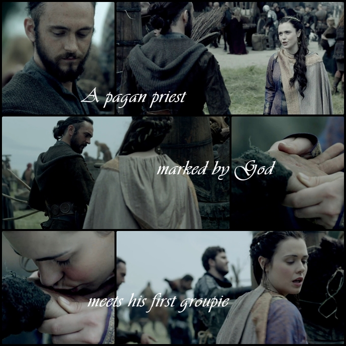 Athelstan's first groupie
